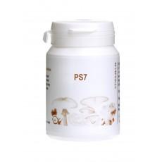Myconutri PS7 (6 sēņu + rauga beta-glukānu ekstraktu maisījums), 60 kaps.